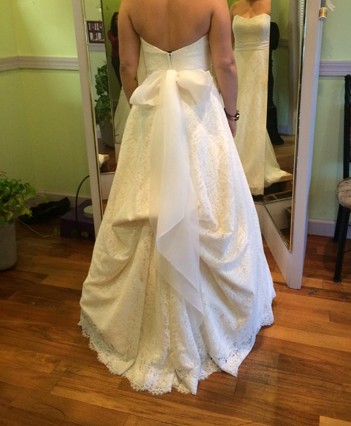Wedding Dress Alterations Same Day Alterations Tinas Alterations